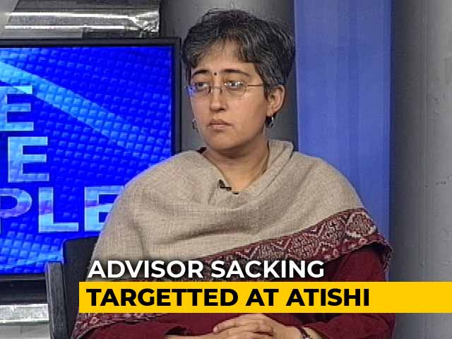 Video : Support Grows For Atishi Marlena, Fired By Centre As Delhi Adviser