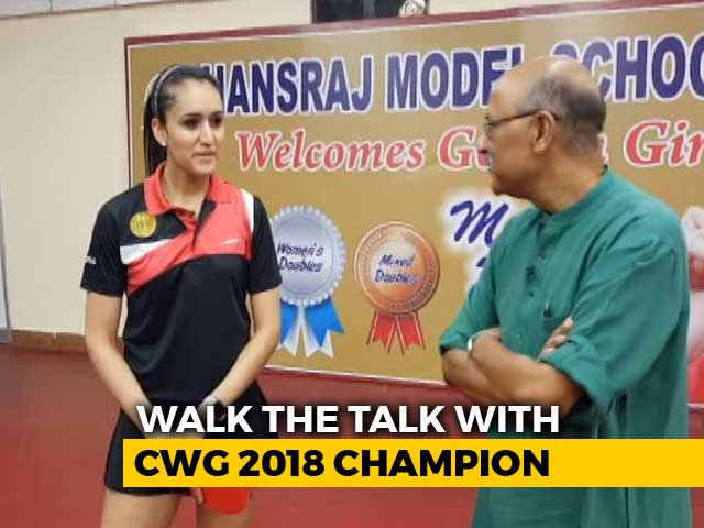 Walk The Talk With Manika Batra, CWG 2018 Table Tennis Gold Medallist