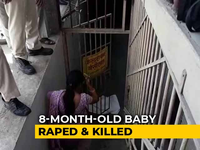 Video : 8-Month-Old Girl Raped, Killed In Indore Basement. Suspect Seen On CCTV