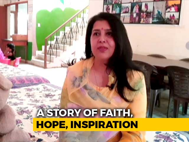 "Video : Jaipur Woman Gives Hope To HIV-Positive Kids With NGO Named ""Faith"""