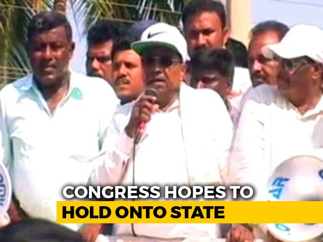 Video : On The Campaign Trail With Siddaramaiah