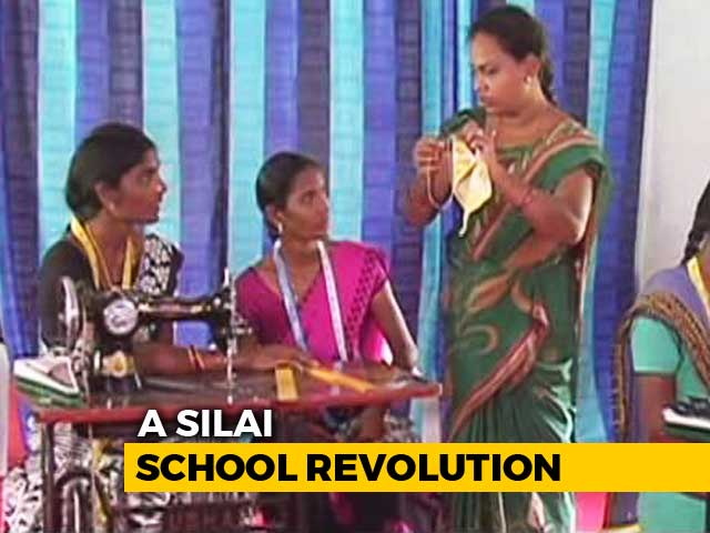 Video: Usha Sewing Schools: Helping Curb Migration In India's First Smart Village In Andhra Pradesh