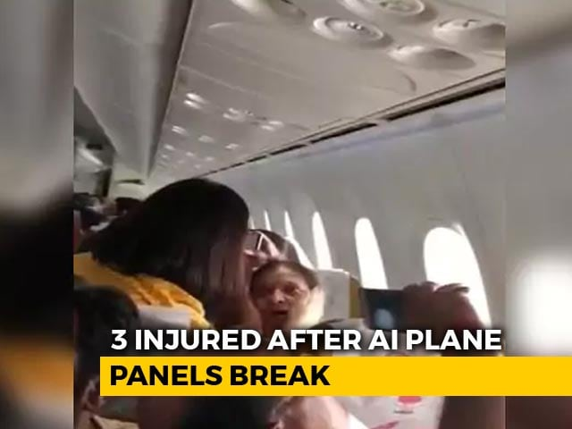 "Video : ""Never Seen Anything Like This"": Air India Flight Hit By Major Turbulence"