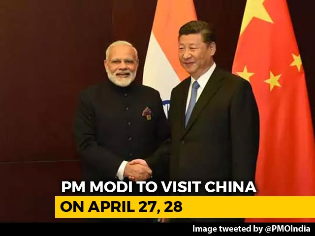 Video : PM Modi To Visit China Next Week, Will Hold Talks With Xi Jinping