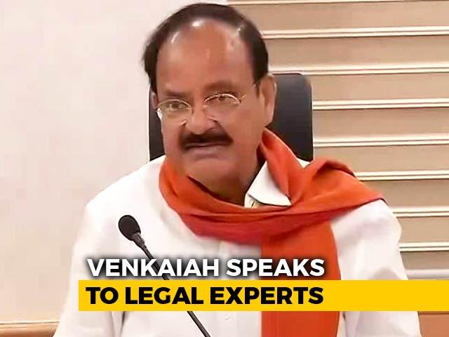 Video : As Venkaiah Naidu Begins Impeachment Consultations, Congress Confident
