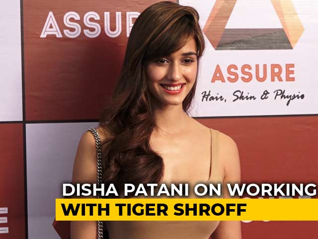 Video : Disha Patani On Working With Tiger Shroff