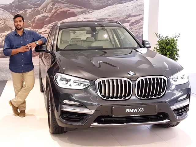 New-Gen BMW X3 Launched
