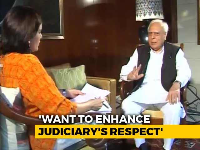 """Video : """"Illegal, Biased"""": Kapil Sibal On Venkaiah Naidu's No To Impeachment Bid"""