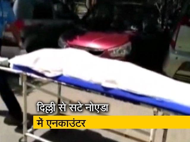 Video : ढाई लाख का इनामी बदमाश बलराज भाटी मारा गया