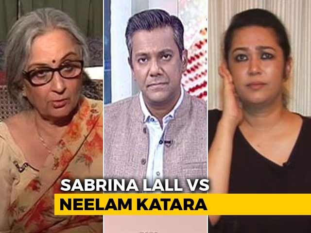 Video : Release Of Jessica Lall's Killer: Sabrina Lall Vs Neelam Katara