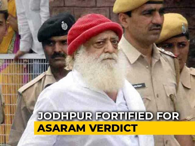 Video : Jodhpur Turns Fortress Ahead Of Verdict In Asaram Rape Case