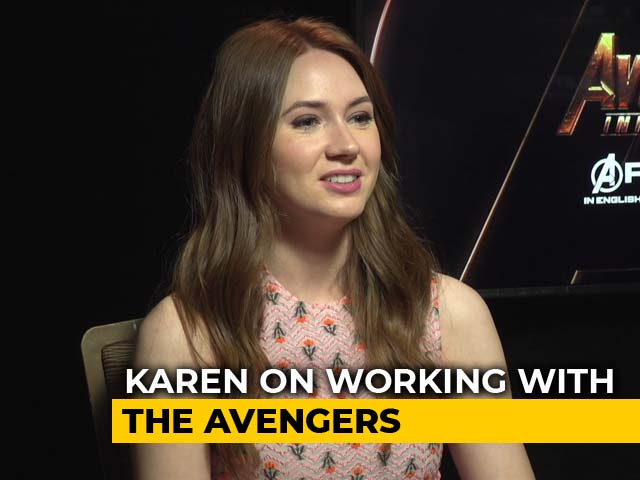 Video : <i>Avengers: Infinity War</i>: Robert Downey Jr Hosts Lunch For Everyone On The Sets: Karen Gillan