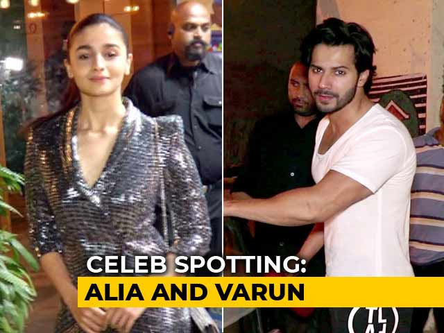 Video : Celeb Spotting: Alia Bhatt, Varun Dhawan & Others