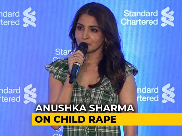 Most Severe Punishment To Those Who Assault Children: Anushka Sharma