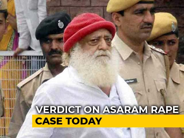 Video : Asaram Verdict In Rape Case Today, Four States On Alert