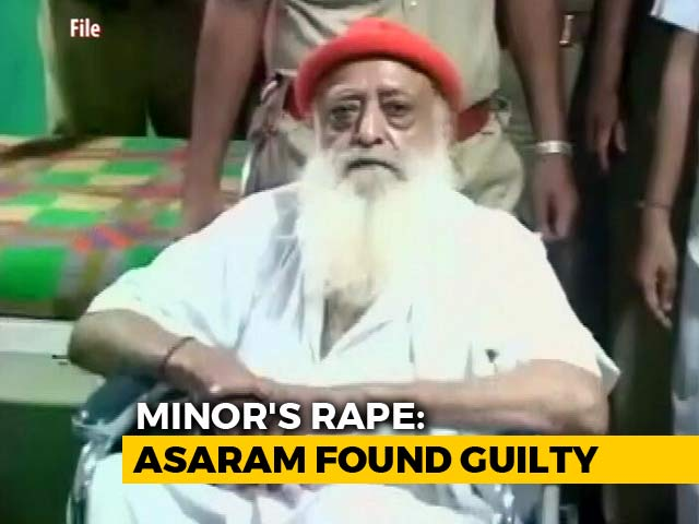 "Video : ""My Daughter Is Happy Today"": Rape Survivor's Father On Asaram Verdict"