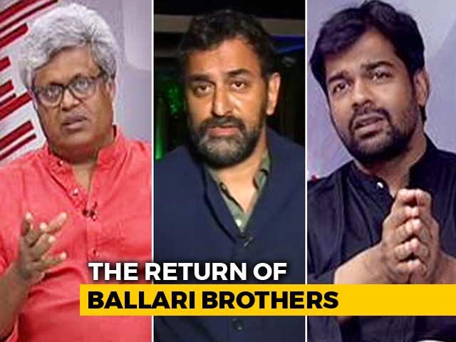 Video : Reddys Return: BJP Doublespeak?