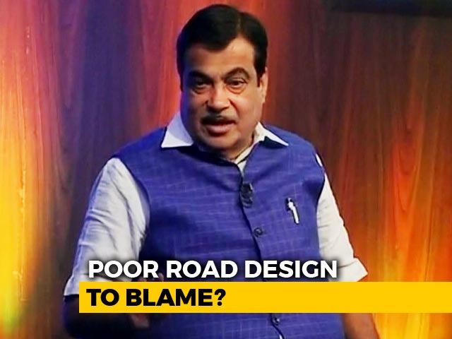 Video : How Nitin Gadkari Plans To Make India's Roads Safer