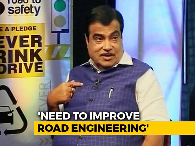 Video : Priority Is To Save Lives Of 1.5 Lakh People Who Die In Road Accidents Every Year: Nitin Gadkari