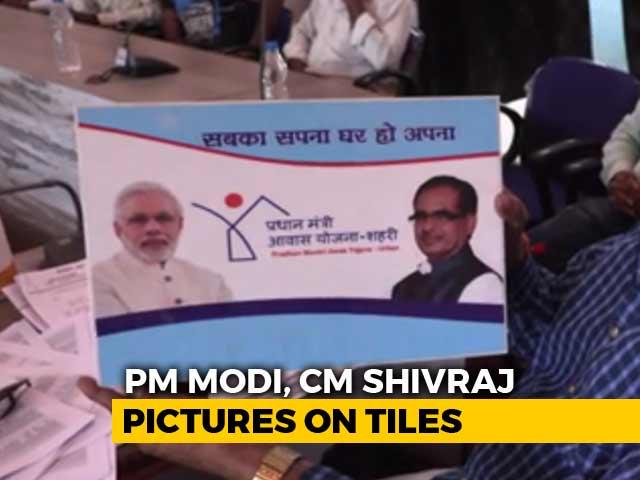 Video : PM Modi On Kitchen Tiles: <i>Sarkari</i> Touch For Madhya Pradesh Home Scheme