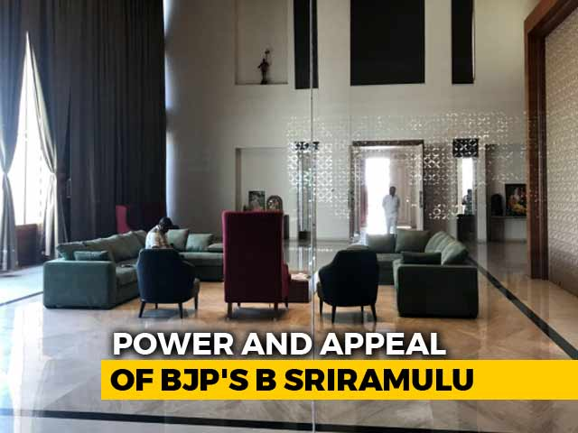 Video : The Significant Power And Appeal Of BJP's B Sriramulu In Karnataka