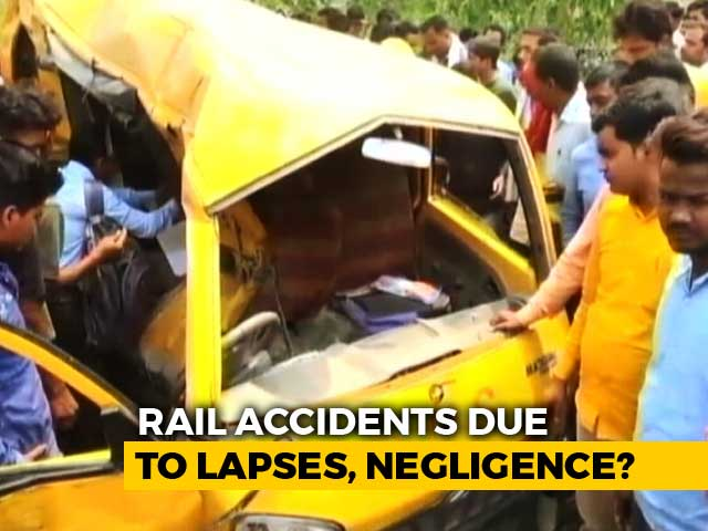 Video : 13 Kids Killed In Train-Van Collision: Unmanned Crossings Or Driver Negligence Responsible?