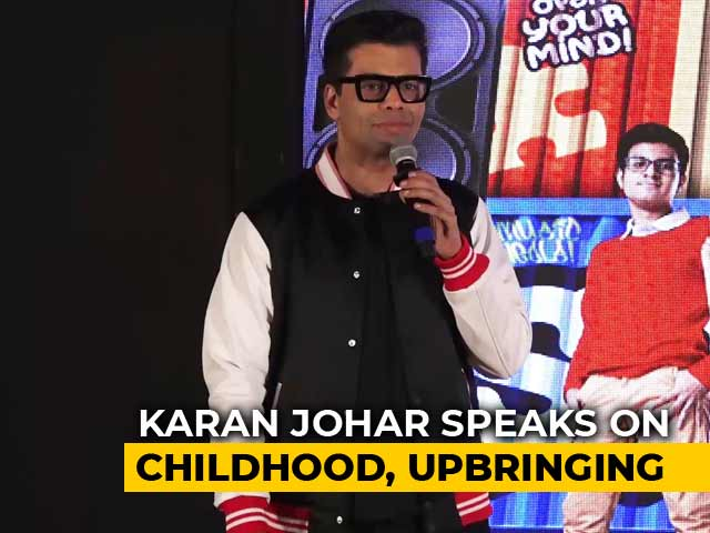 Karan Johar Speaks About His Childhood & Upbringing