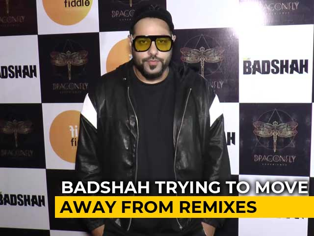 I Am Trying To Move Away From Remixes: Badshah