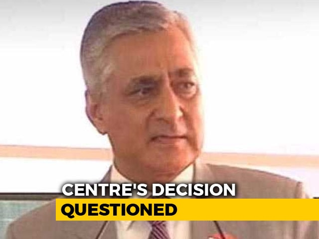 Video : Centre's Rejection Of Justice Joseph Is A Message, Says Ex-Chief Justice TS Thakur