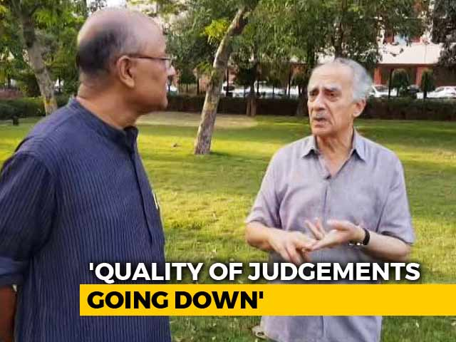 Video : Walk The Talk With Author And Former Minister Arun Shourie