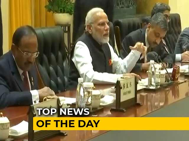 Video: The Biggest Stories Of April 27, 2018
