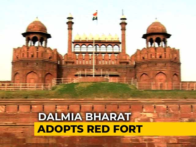 Video : Red Fort 'Adopted' In Rs. 5 Crore Deal, Triggers Opposition Attack