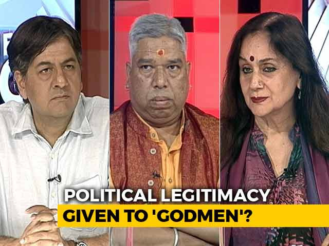 Video : Are 'Godmen' Above The Law Of The Land?