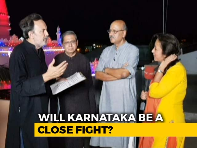 Video : Prannoy Roy And Team Look At Who Is Likely To Win Karnataka