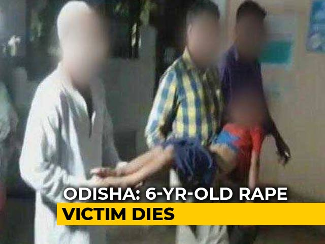 Video : 6-Year-Old Girl Raped, Strangled In Odisha School Dies After 8 Days In Hospital
