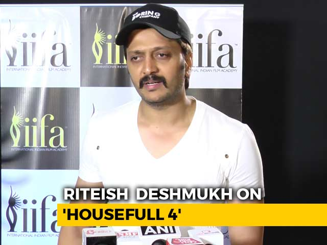 Video : Riteish Deshmukh On <i>Housefull 4</i> & IIFA Awards 2018