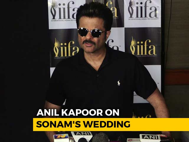 Video : Anil Kapoor Refuses To Share Any Information About Daughter Sonam's Wedding