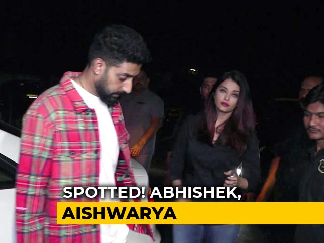 Spotted! Ranbir, Abhishek, Aishwarya & Others