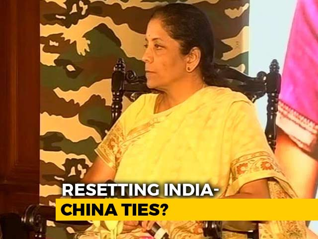 "Video : ""Doklam Resolution Showed India's Maturity"": Defence Minister To NDTV"