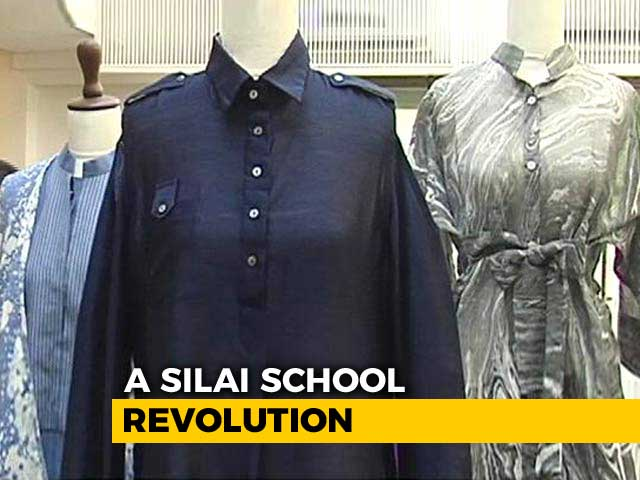 Video: Usha Silai School Women's Hard Work Pays Off As The Label Hits The Retail Store