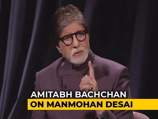 The Public Exploded Watching Manmohan Desai's Films: Big B