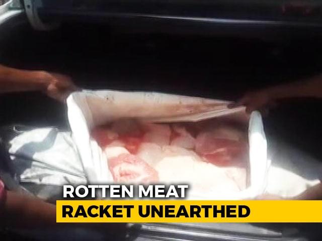 Video : Scare In Kolkata Over Sale Of Dead Animal Meat, 10 Arrested