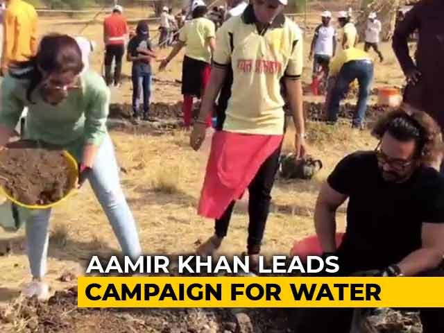 Video : Aamir Khan, Alia Bhatt Launch Third Edition Of Water Cup In Maharashtra