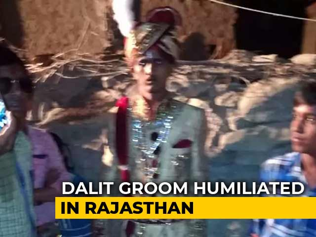 Video : In Rajasthan, 7 Arrested For Forcing Dalit Groom To Dismount His Horse