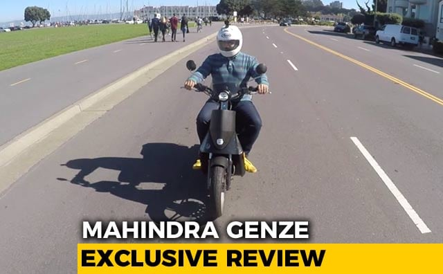 Video : Exclusive: Mahindra Genze Electric Scooter Review