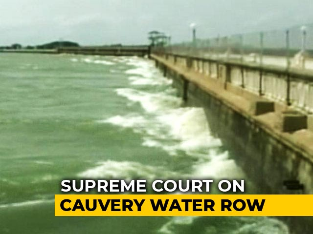 Video : PM Busy With Karnataka Polls, Says Centre After Top Court's Cauvery Order