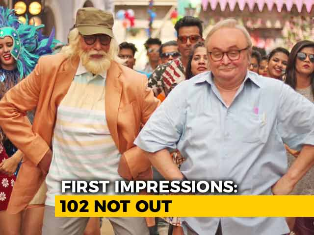 First Impressions Of 102 Not Out