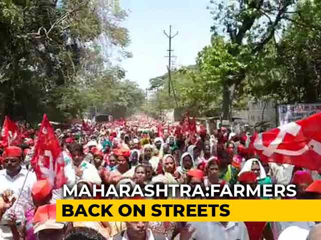 Video : Adivasi Farmers Protest Over Land Acquisition For Bullet Train Project