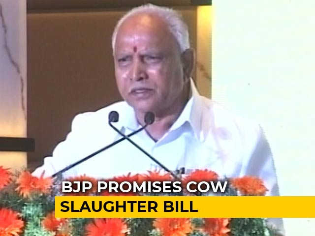 Video : Ahead Of Karnataka Polls, BJP Promises To Waive Farm Loans Up To 1 Lakh