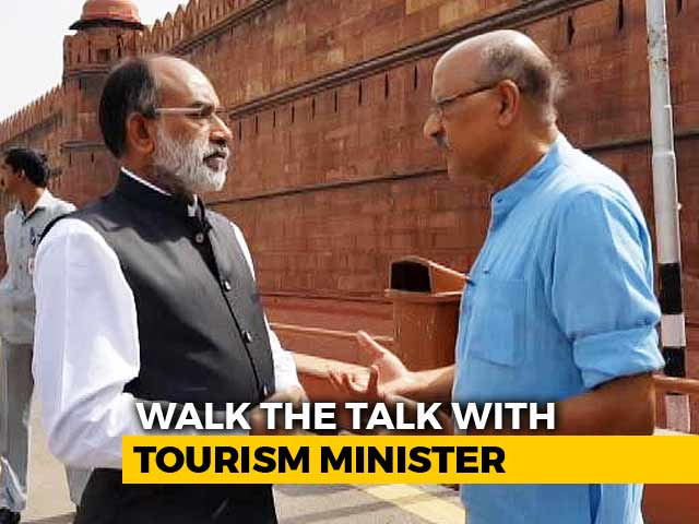 Video : Taj Mahal Is Next In Line, Says KJ Alphons, Undaunted By Red Fort Row